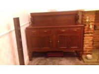 Old fashioned sideboard
