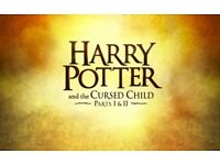 2 X HARRY POTTER & THE CURSED CHILD TICKETS - SAT 19TH AUG