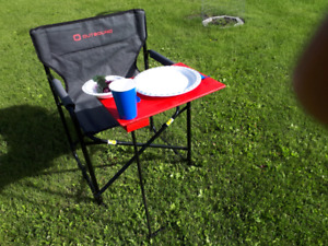 Lawn chair  table and  stand