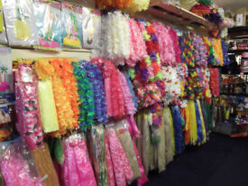 Fancy Dress and Party Shop stock for sale around 5,000 items, grab a Bargain