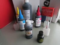 selection of printer ink (HP compatible)