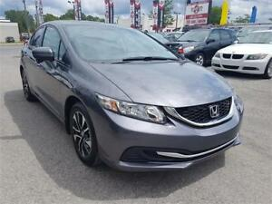 2015 Honda Civic Sedan EX, NAV, AUTO, TOIT,ONLY 8760 KM, MAGS,