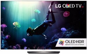 LG OLED55B6 Flat 55-Inch 4K Ultra HD Smart OLED TV-MOVING SALE