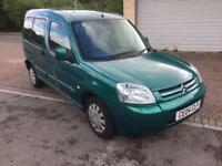 2004 Citroen Berlingo 1.9D 5 Door MPV Diesel Multispace Forte Metallic Green