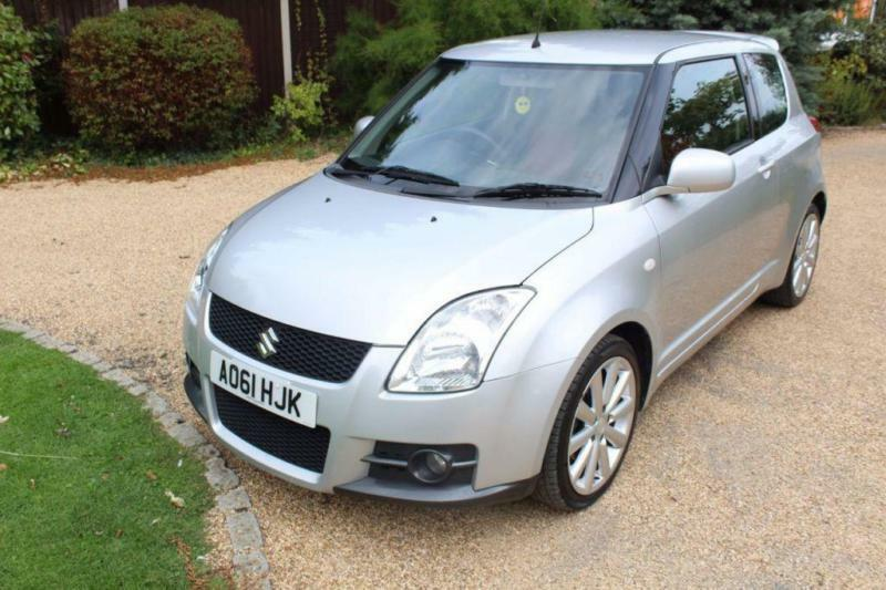 CHEAP CAR - 2011 61 SUZUKI SWIFT 1.6 SPORT 3D 125 BHP
