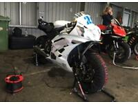 Yamaha r6 rack bike