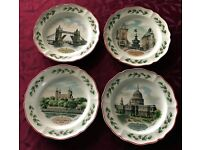 Collector's Edition of Queen's Ware Wedgwood Christmas Plates