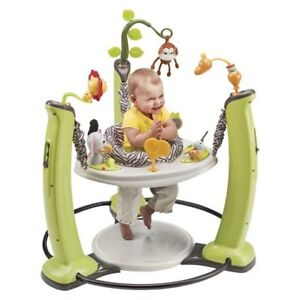 ExerSaucer Jump and Learn Jungle Quest-Evenflo