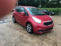 2016 LOVELY KIA VENGA 1.6 3 RED AUTO LOW MILEAGE 10000 CAT D 1 YEAR MOT 1 OWNERS
