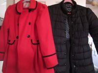 Girls coats age 11-12
