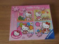 Ravensburger 4 Hello Kitty Jigsaw Puzzles in Box