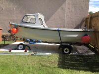 Orkney Coastliner 14ft boat