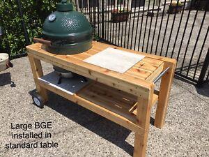 Big Green Egg/Kamado Joe table