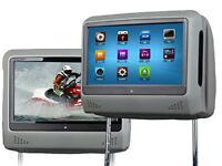Eonon L0276 Pair of 9 inch Digital Touch Screen Detachable Headrest DVD player