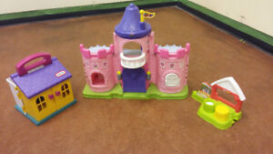 Fisher Price Castle and Toys