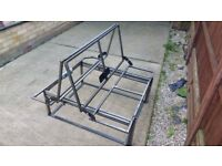 3/4 Rock and roll bed frame new