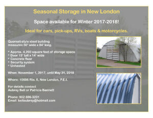 Winter Vehicle Storage In New London