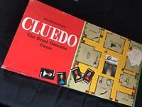 Cluedo board game (1975)