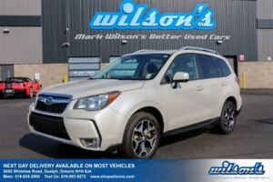 2014 Subaru Forester XT LIMITED LEATHER TRIM! SUNROOF! HEATED SE
