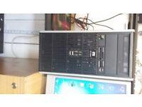 HP COMPAQ,DC5850 DUAL CORE, COMPUTER