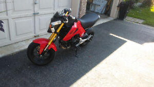2014 Honda Grom. Upgraded + stock parts included