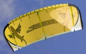 Best Kiteboard Kite Bularoo 10m, New Bar, Bag and Pump