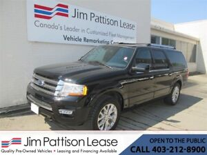 2017 Ford Expedition Max 3.5L ECO-Boost Limited LOADED 8 Pass.