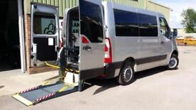 2012 Renault Master SWB Diesel Wheelchair Accessible Vehicle & Lift
