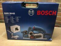 Corded Bosch Planer GHO 26-82, 220V, Sealed Packaging