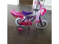 Practically New Children's 12inch Bike
