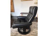 Stressless/Ekornes leather armchair
