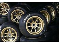 Avon ZZR 185/55/13 185 55 13 track day tyres semi slicks sticky used part worn