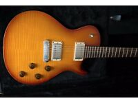 PRS SC245 Nitro Cellulose Sunburst USA model electric guitar with hard case
