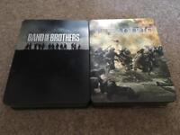 Complete DVD set of Band of Brothers & The Pacific