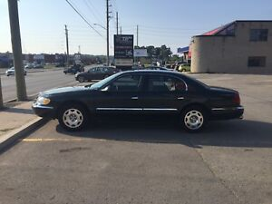 2002 Lincoln continental luxury 4dr 4.6l V8