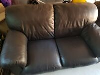 Single Seater & Two Seater Leather Sofa