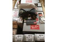52 Pairs of RayBan Clubmasters Job lot £500