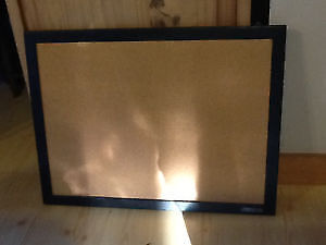 cadre neuf avec liege § wood frame black with cork inside