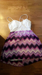 Pretty laced strapped lilac dress for sale OBO