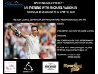 An Evening With Michael Vaughan
