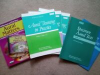 Aural training & specimen test books
