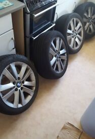 bmw 1 series wheels and tyres