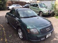 2002 Audi TT 1.8 T Sport Quattro 3dr Manual 1.8L @07445775115@