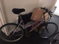 Purple Lady's bike, good quality