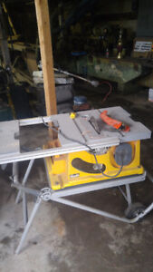 different table saws from 20 to 50 bucks