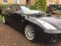 2005 Toyota Celica Limited Edition Coupe Red Full Leather,FSH&Mot