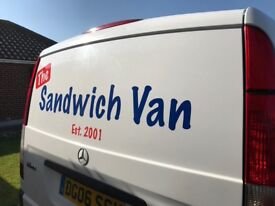 Sandwich Delivery Round FOR SALE in the Selsey and Witterings Manhood Penincular