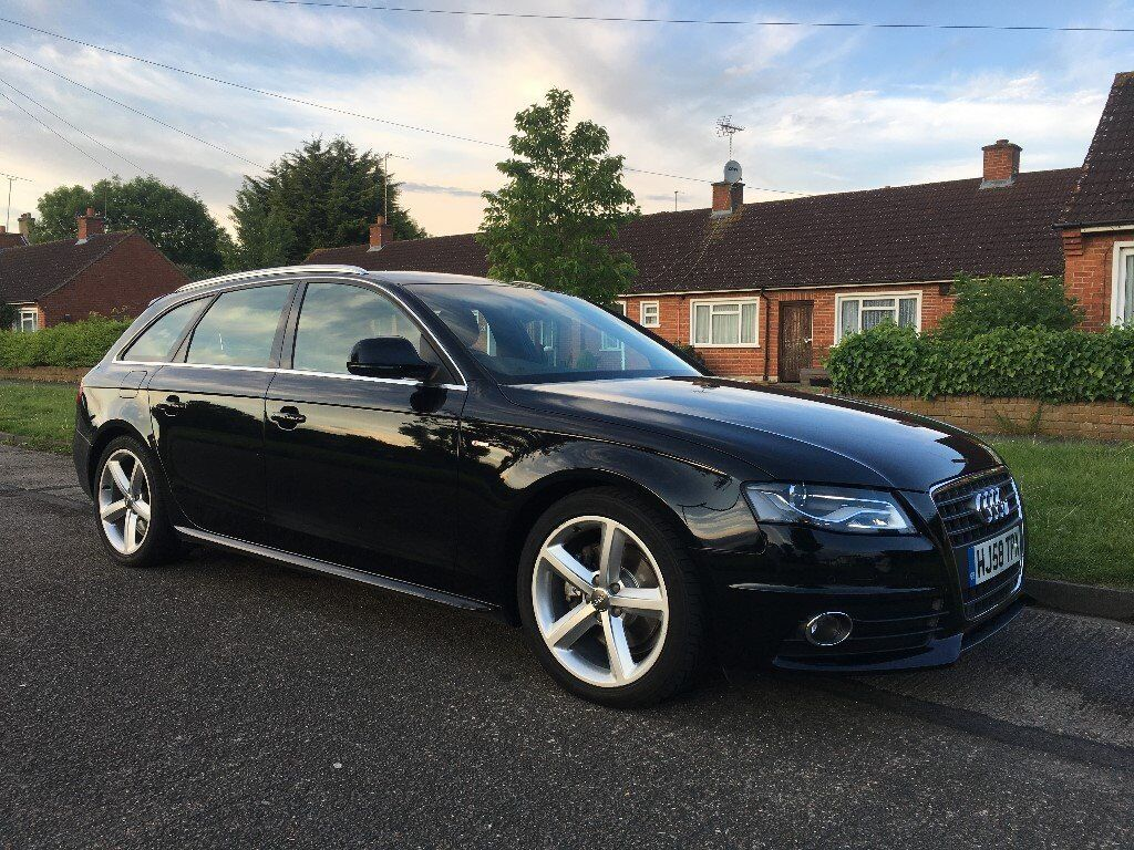 audi a4 b8 avant 2 0 tdi sline cvt gearbox cat d in. Black Bedroom Furniture Sets. Home Design Ideas