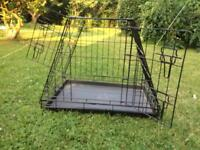 Dog or cat car cage