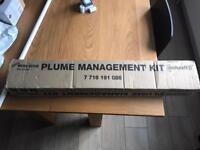 Worcester Bosch Plume Management kit, flue extension part number 7716191086